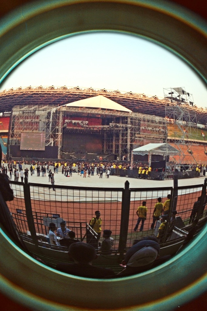 Set panggung Metallica