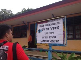 SD tempat Mama Mince menjadi Kepala Sekolah sekaligus Guru