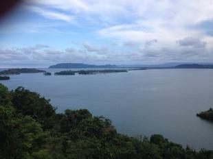 pemandangan dalam perjalanan menuju Jayapura