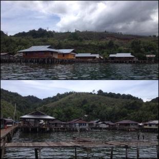 Desa Tablasupa, desa terapung