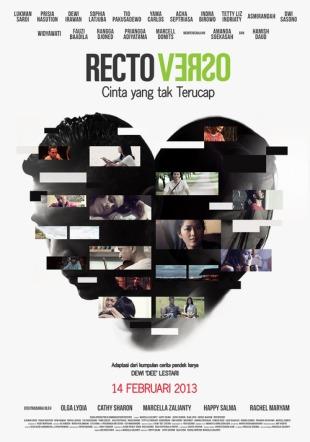 Cinta yang Tak Terucap Sumber : rectoverso-film.tumblr.com