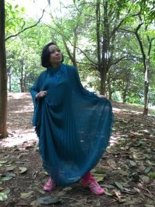 Veena Devi Mutiram : cinta bisa memberi kekuatan.