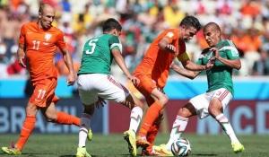 Belanda vs Meksiko. Sumber : sisibola.com