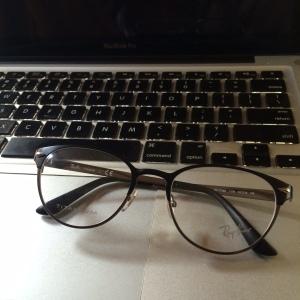 dikasih kaca mata baru, biar mata tua ini jadi muda lagi :D